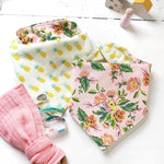The Bird + Elephant - Pineapple and Flowers Bib