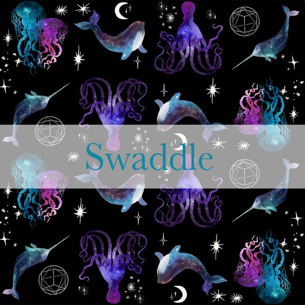 Stretchy Swaddle Blanket - Cosmic Seas - Pre-Order - Ships in 2-5 Weeks
