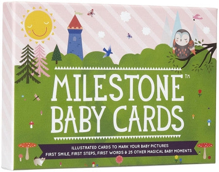 Milestone Baby Cards - GreenPath Baby - 1