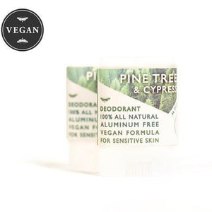 Vegan - Aluminum Free Deodorant - Travel Size - All Scents
