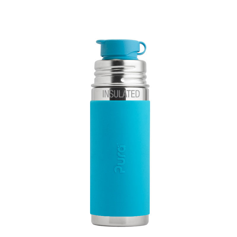 Pura Kiki Insulated Sport Sleeved Bottle - 9 oz