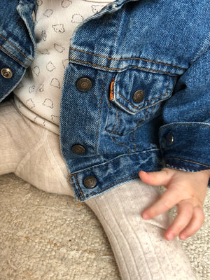 Levis denim jacket ~ 6-9 M