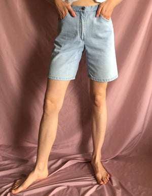 High-waisted Arizona denim shorts ~ S