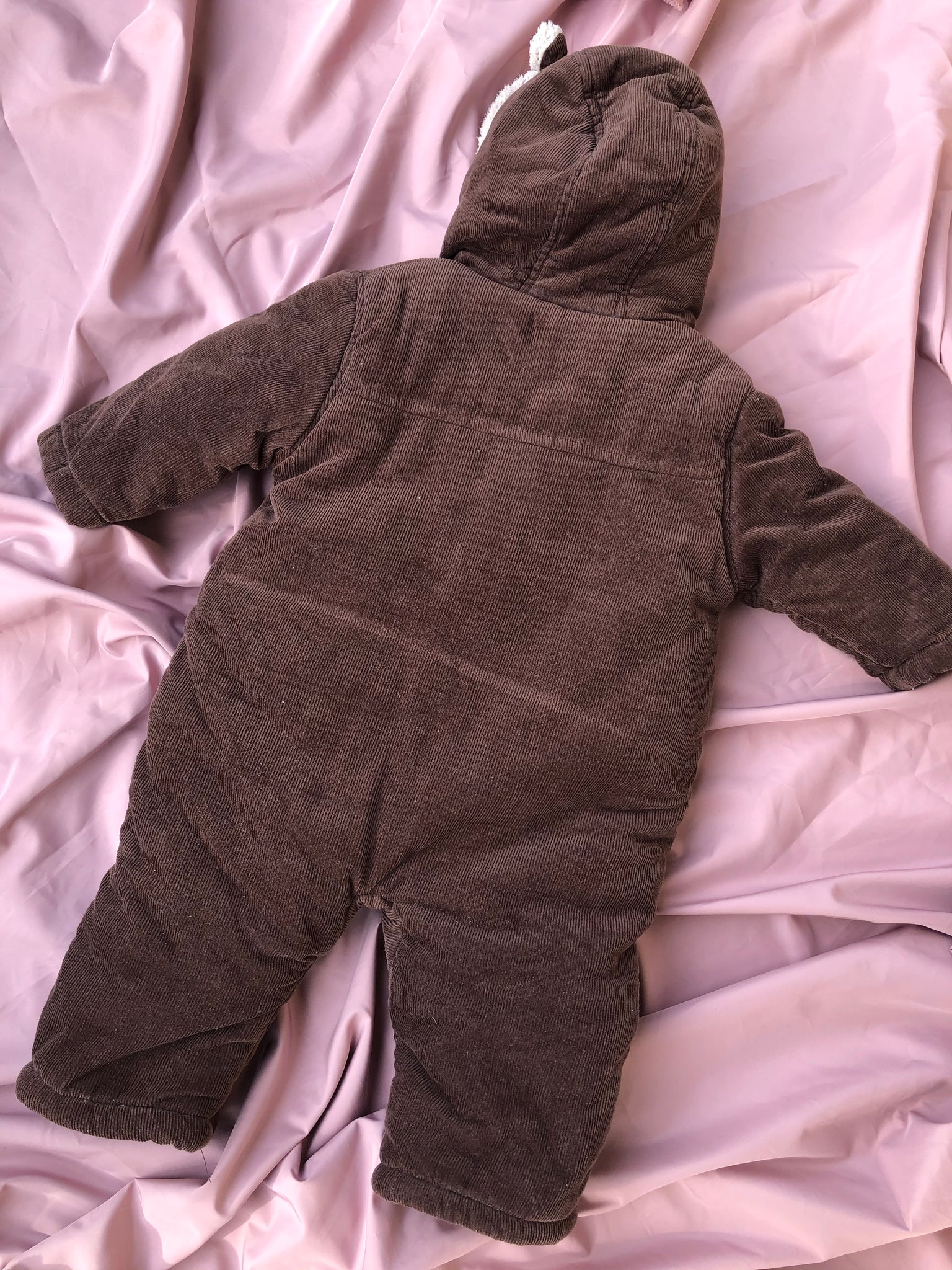 Corduroy winter overal ~ 6-9 M