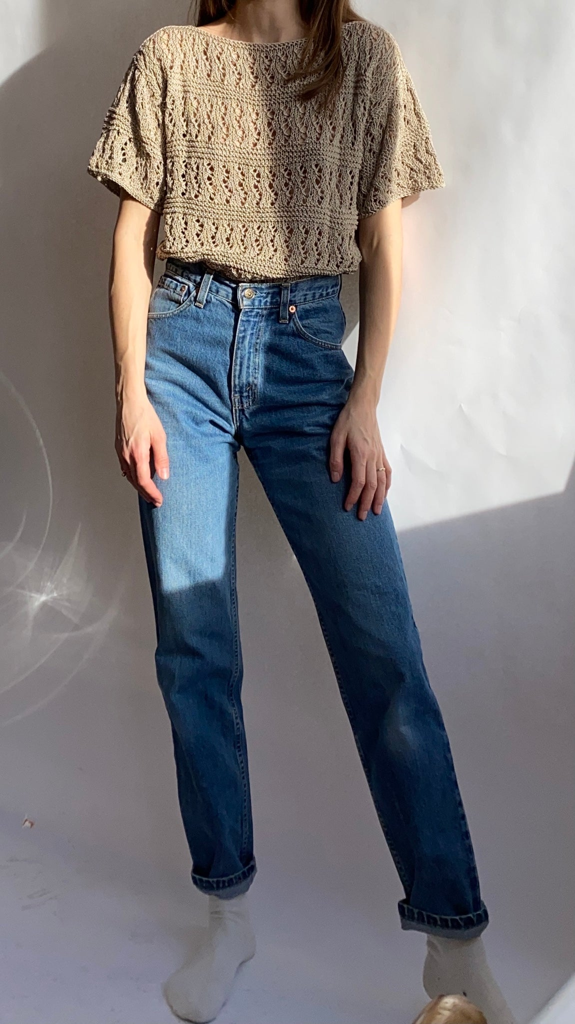 High-Waisted Levi's Jeans ~ S-M
