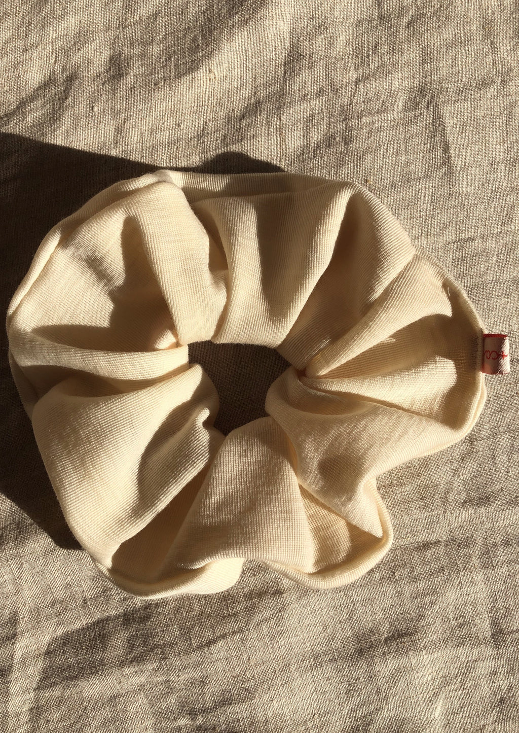 Wool Jersey Scrunchie - large