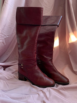 Burgundy Boots  ~ 36
