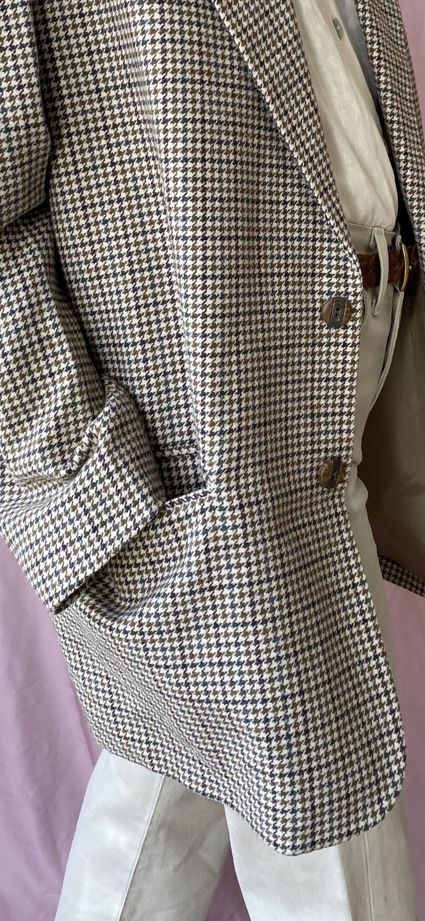 Tweed wool blazer