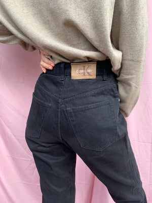 High-waisted Calvin Klein jeans