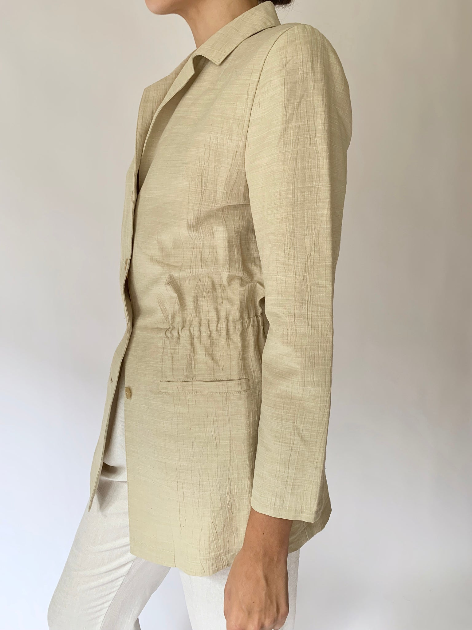 Safari style summer jacket