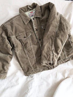 Levis cord sherpa jacket ~ 10 years