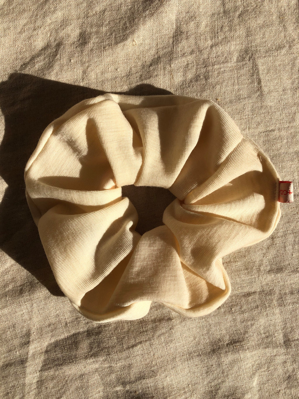 Wool Jersey Scrunchie - regular