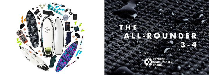 Take It All with the new All-Rounder 3-4 Boardcover