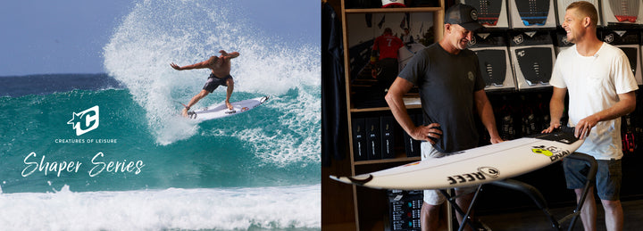 Mick & DHD talk board designs, traction pads and more in Shaper Series Ep. #1