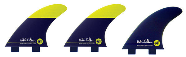 Medium Surfboard Fins