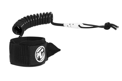 COILED WRIST LEASH BLACK
