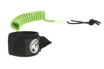 COILED WRIST LEASH LIME