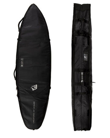 2021 SHORTBOARD QUAD COFFIN DT2.0 : BLACK