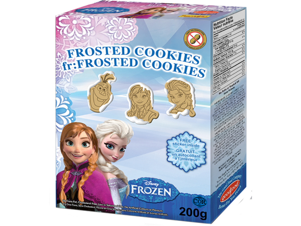 Disney's Frozen Sugar Cookies 200gÊ x 8