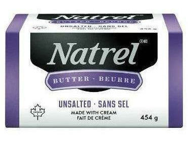 Natrel Sweet Butter 1 LB. ( 25 P/BOX ) (1014)