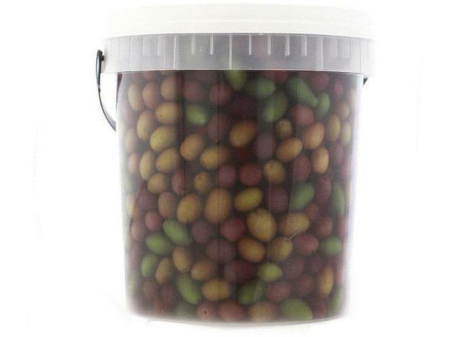 Pitted Mixed Mediterranean olives 1 x 5kg