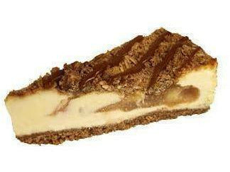 "Elite Sweets 10"" Apple Crisp Cheesecake"