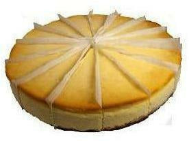 "Elite Sweets 10"" Cheesecake Precut 4 p/cs"