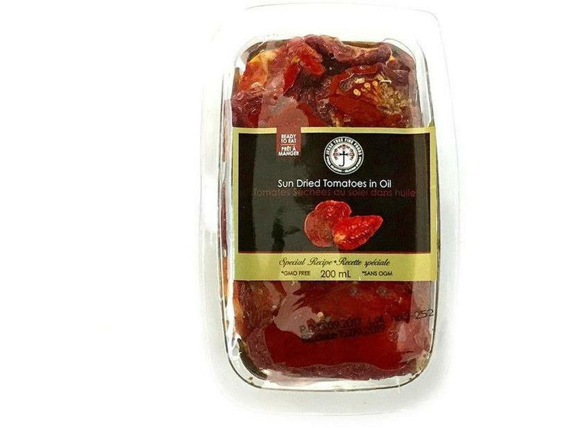Sundried Tomatoes in Oil (Plastic Tray) 12 x 200ml