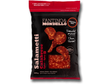 Fantino & Mondello thin Sliced Salametti Calabrese 12 p/cs