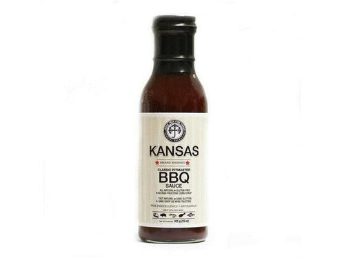 Jesse Tree Kansas (Pitmaster) BBQ Sauce 6 x 450ml