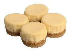 "Elite Sweets 2"" Mini Plain Cheesecake"