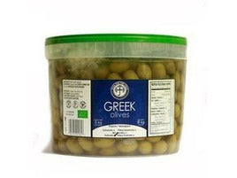 Whole Green Halkidiki Olives 2 x 5kg