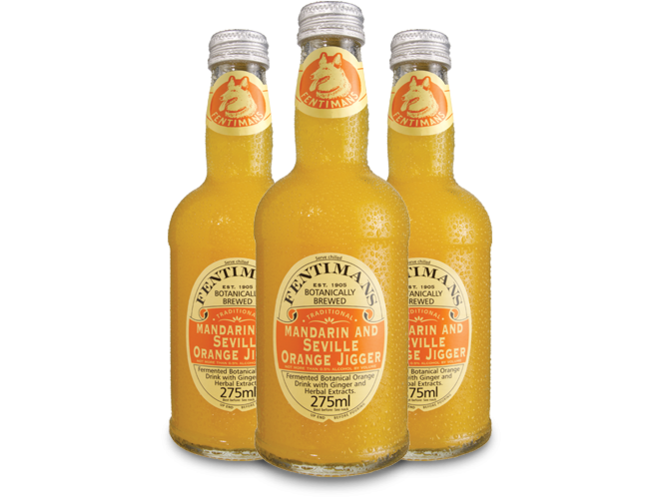 Fentimans Mandarin & Seville Orange Jigger  24 p/cs