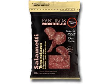 Fantino & Mondello thin Sliced Salametti Veneziano 12 p/cs