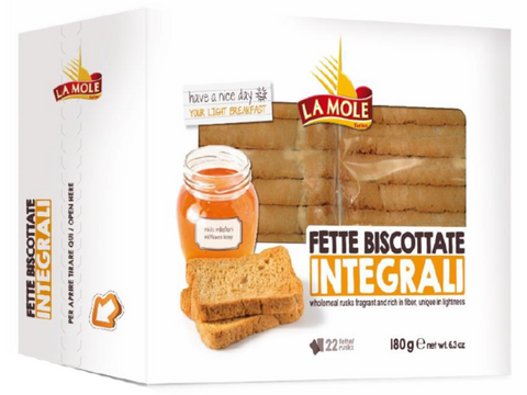 Fette Bis Whole Wheat 32x180gr