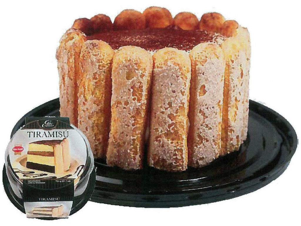 "Elite Sweets 6"" Tiramisu Cake 4 p/cs"