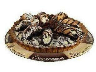 "Elite Sweets 8"" Cannoli Cake 2 p/cs"