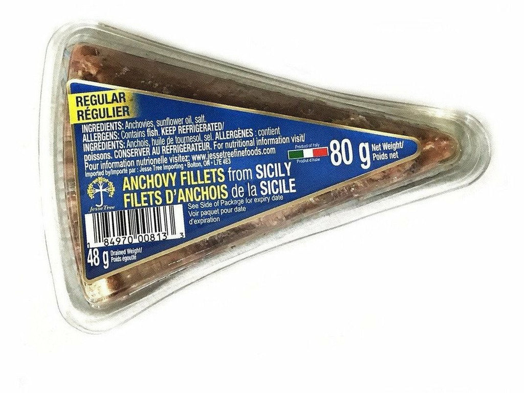 Anchovy Plain Triangles 50 x 80g