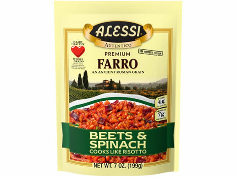 Alessi Farro with Beets and Spinach