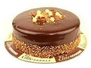 "Elite Sweets 8"" Bacio Cake 2 p/cs"