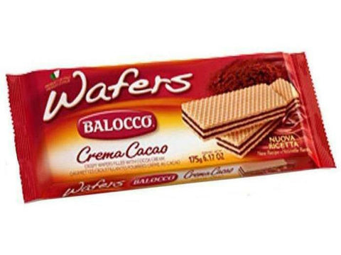 Balocco Wafers Chocolate 12 p/cs