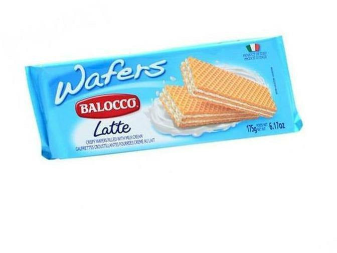 Balocco Wafers Milk 10 p/cs