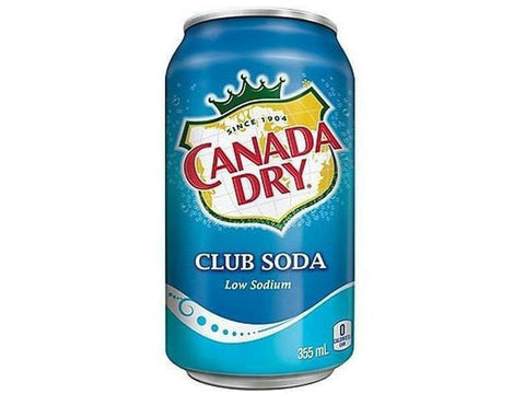 Club Soda 12 x 355ML  P/Case