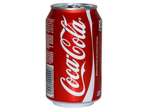 Coke Cola Can 24 x 355ml. per\case