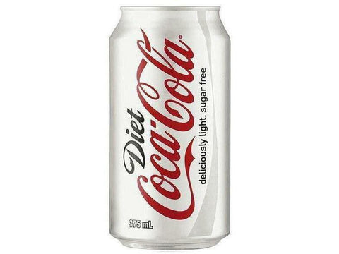 Coke Cola Diet  Can 24 x 355ml. per\case