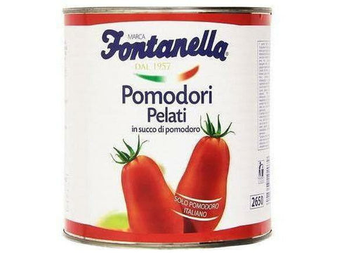 Fontanella Peeled Tomatoes with Basil