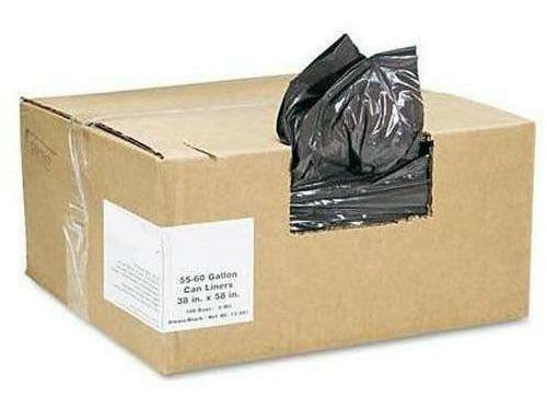 Garbage Bags Black 35 x 50