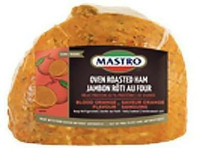 Mastro Oven Roasted Blood Orange Flavoured Ham 2 x 3.5 kg
