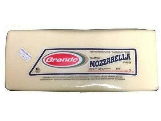 Grande Cheese Mozzarella Block