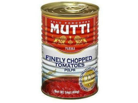 Mutti Finely Chopped Tomatoes 12 p/cs